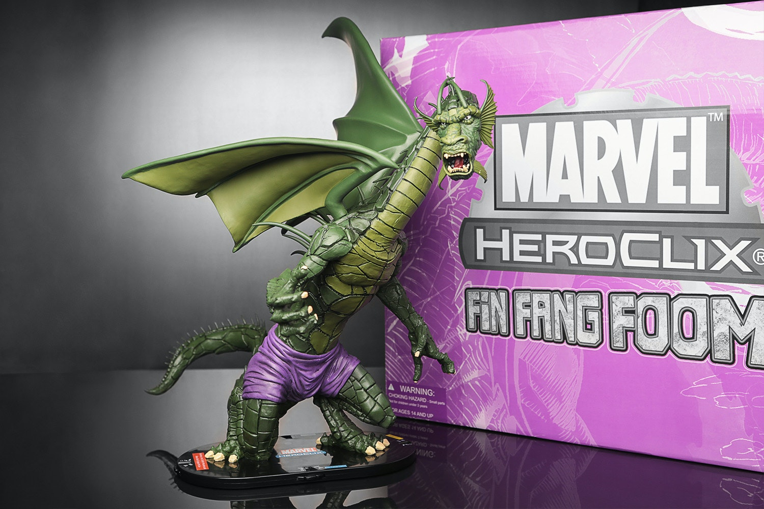 "Marvel Fin Fang Foom ""Purple Pants"" HeroClix"