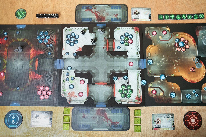 Sedition Wars Board Game