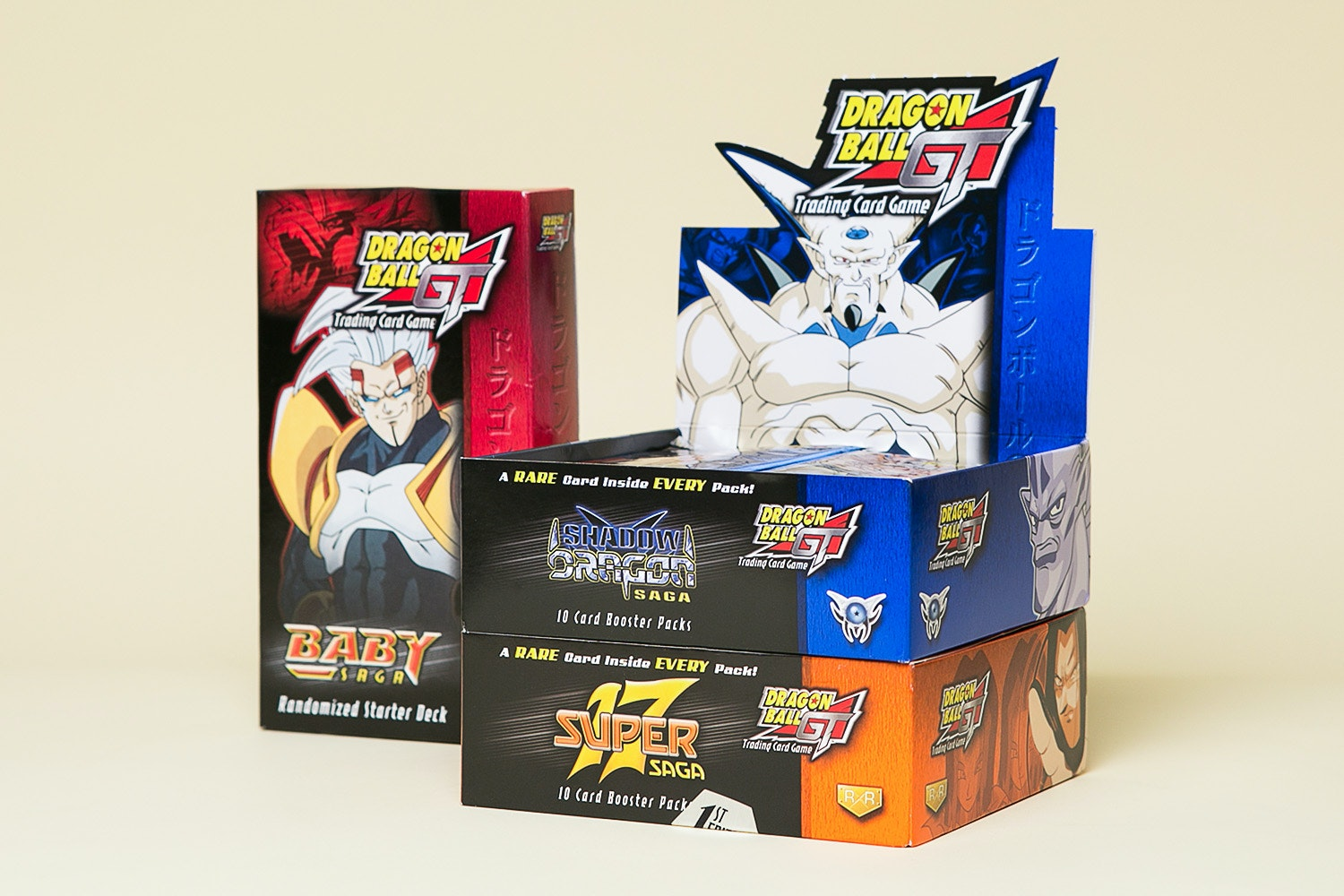 Dragon Ball GT Card Game Bundle