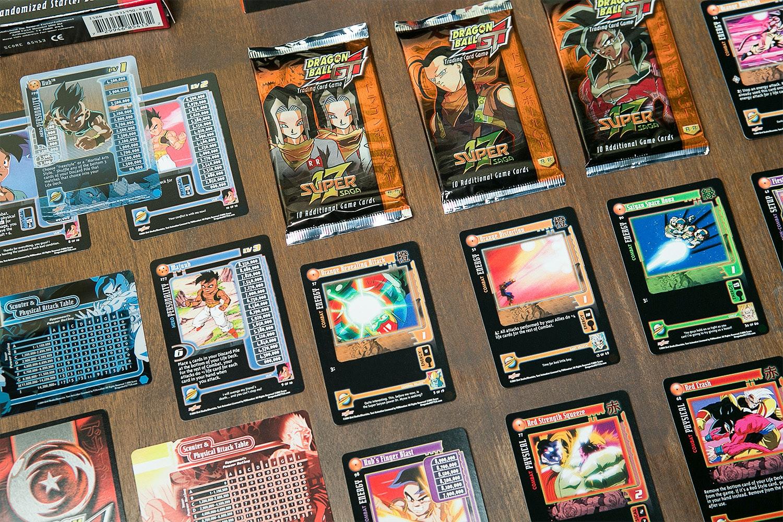 Dragon Ball GT Card Game Bundle