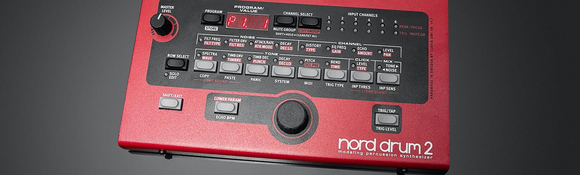 Nord Drum 2 Electronic Drum Module