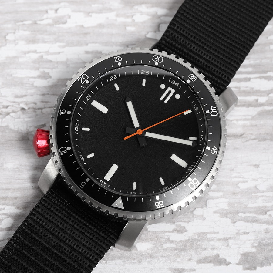 Maratac SR-1 Red Crown Watch