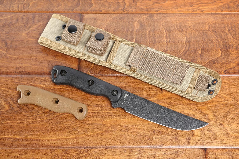 KA-BAR Becker Short Trailing Point Knife