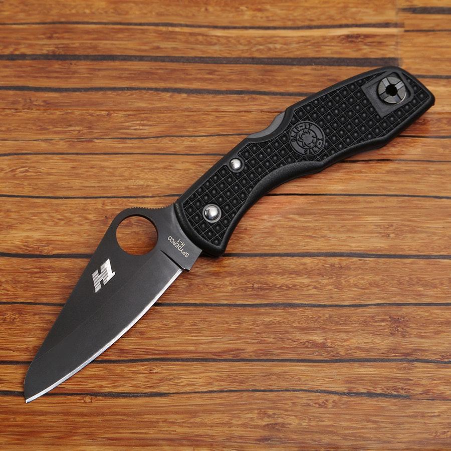 Spyderco Salt 1 (Black H1 Blade)