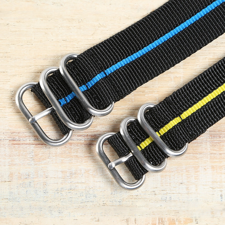 Maratac Striped Zulu Strap (2-pack)