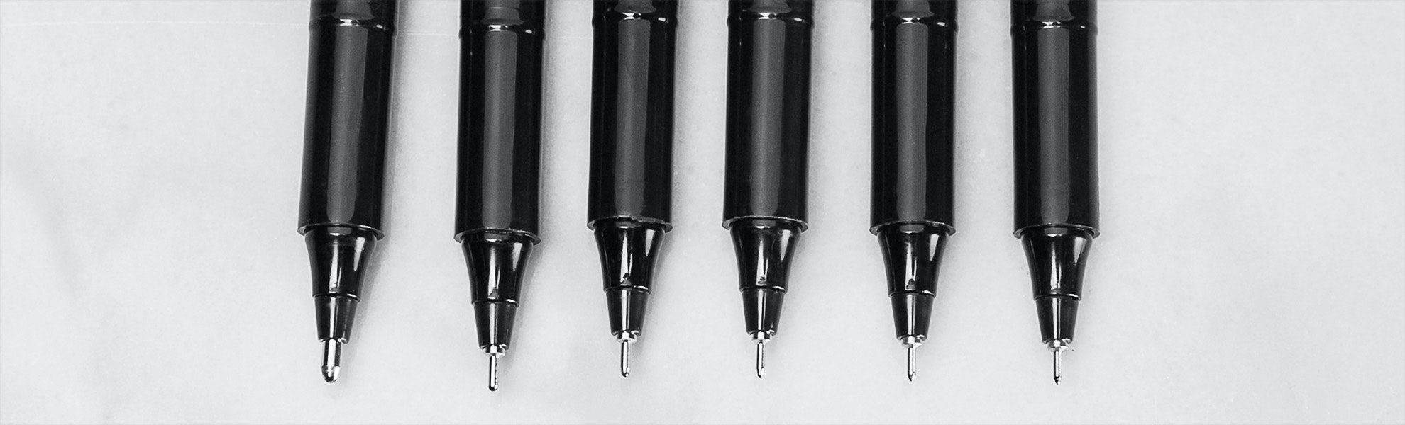 OHTO Graphic Liner Drawing Pens (10 or 12-Pack)