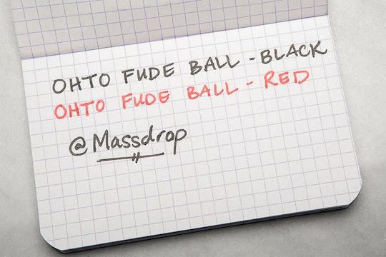 OHTO Fude Ball Pen (10-Pack)