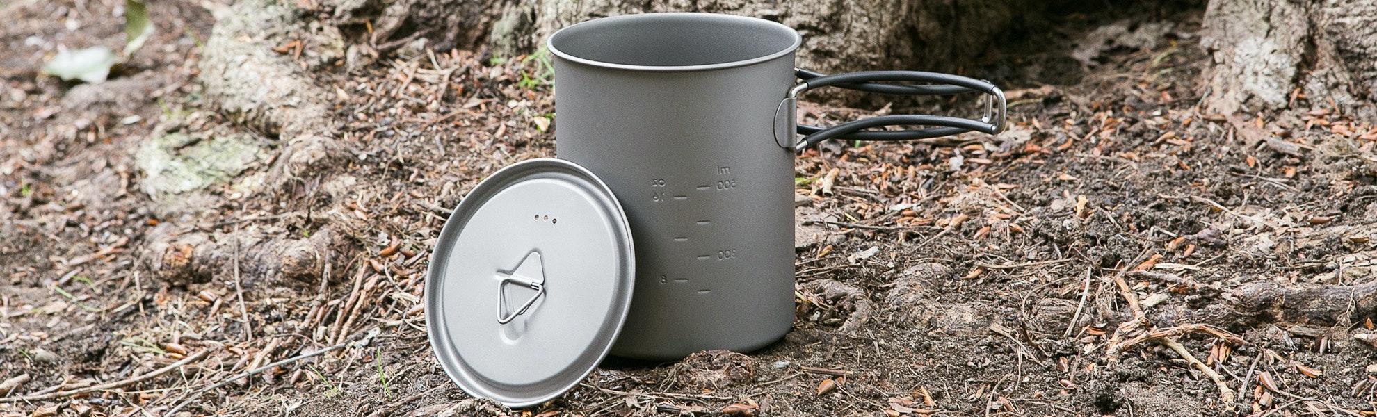 Toaks Titanium 850ml Pot