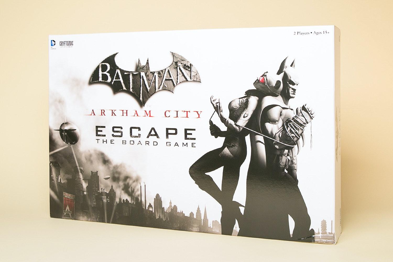 Batman Arkham City Escape Board Game