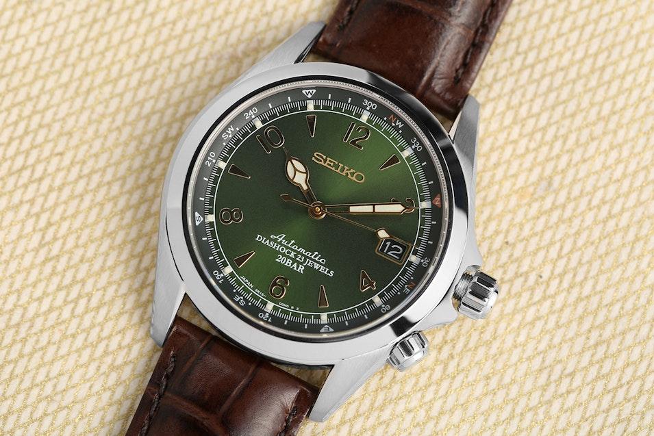 Seiko alpinist sarb017 watch price reviews massdrop for Mountain watches