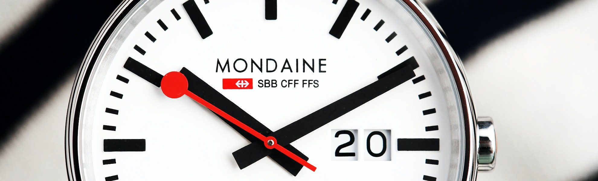 Mondaine Evo Big Date Quartz Watch