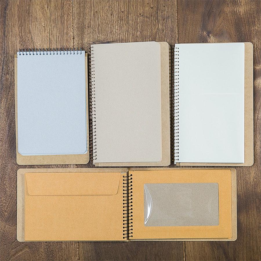 Midori Spiral Notebook (4-Pack)