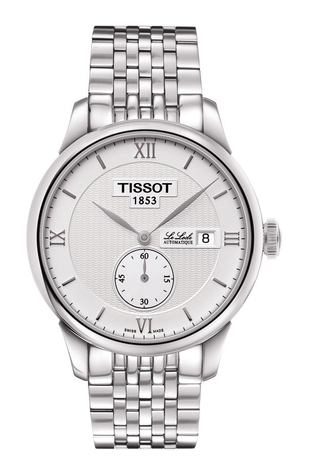 White dial with SS bracelet (+$25)