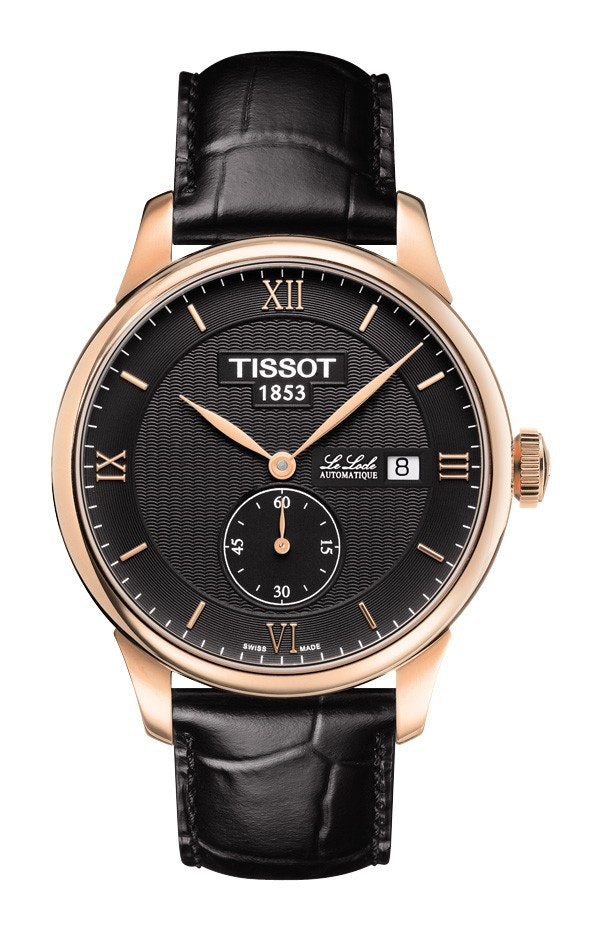 Black dial with Rose gold PVD coating (+$65)