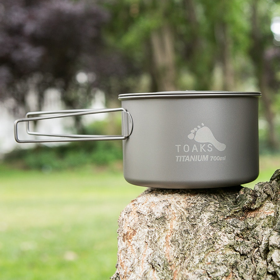 Toaks Light Titanium 700 ml Pot
