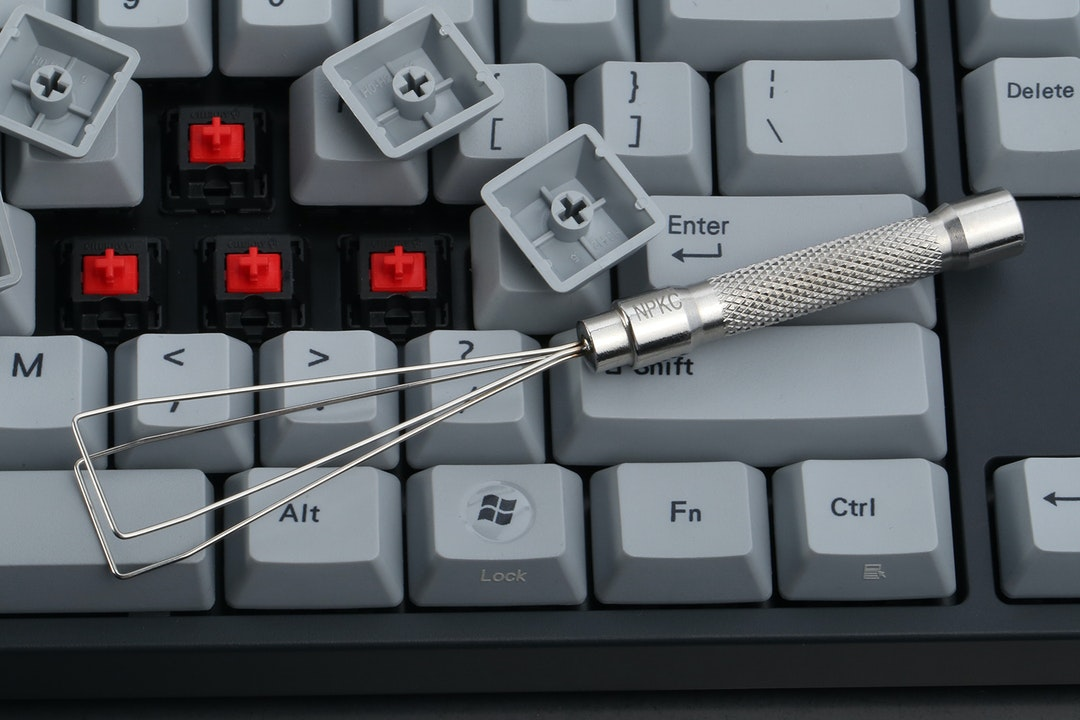 69ba93b339a ... work most of the time, they can break easily or mess up your precious  keycaps, problems that can be avoided with the NPKC Stainless Steel Keycap  Puller.