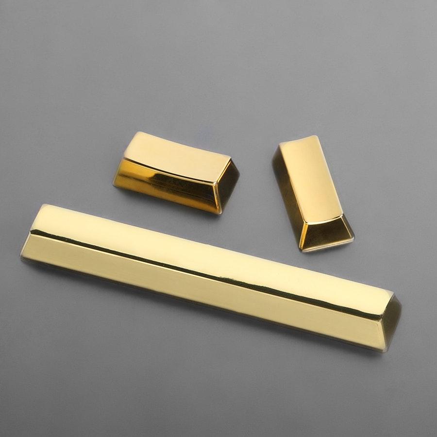 Gold Color Zinc Spacebar