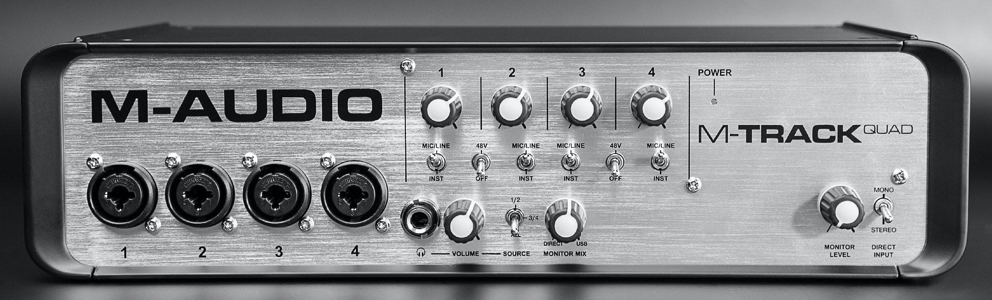 M-Audio MTRACK Quad