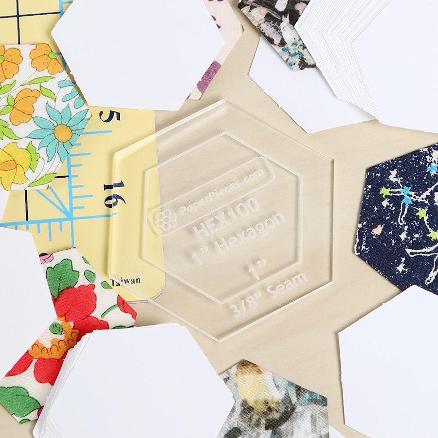 Hexagon English Paper Piecing Kit