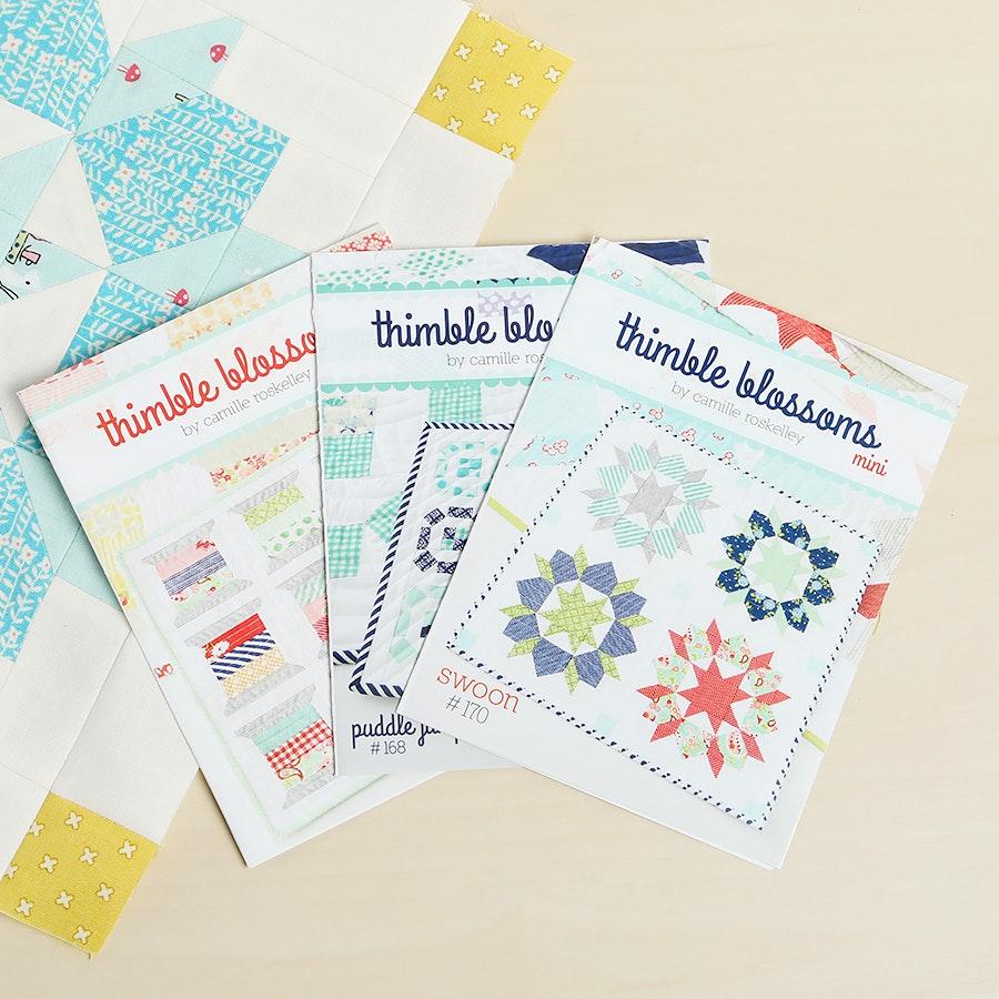 Thimble Blossoms Mini Quilt Patterns (3-Pack)