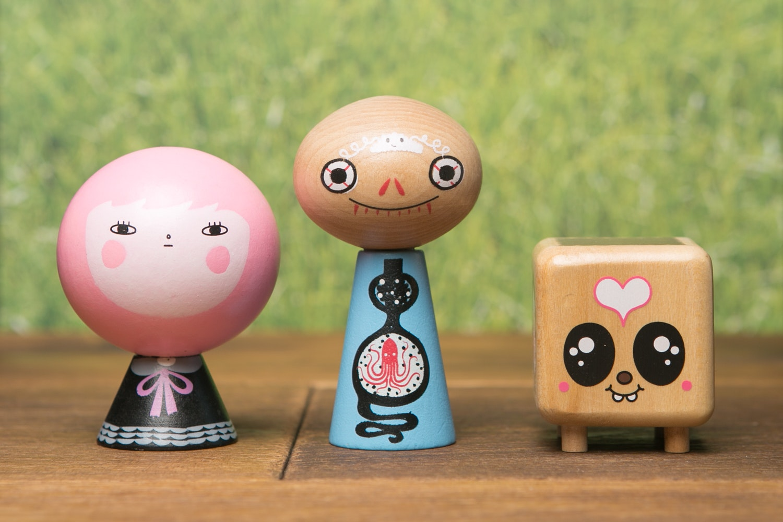 Jibibuts Artist Series Blind Box (3-Pack)