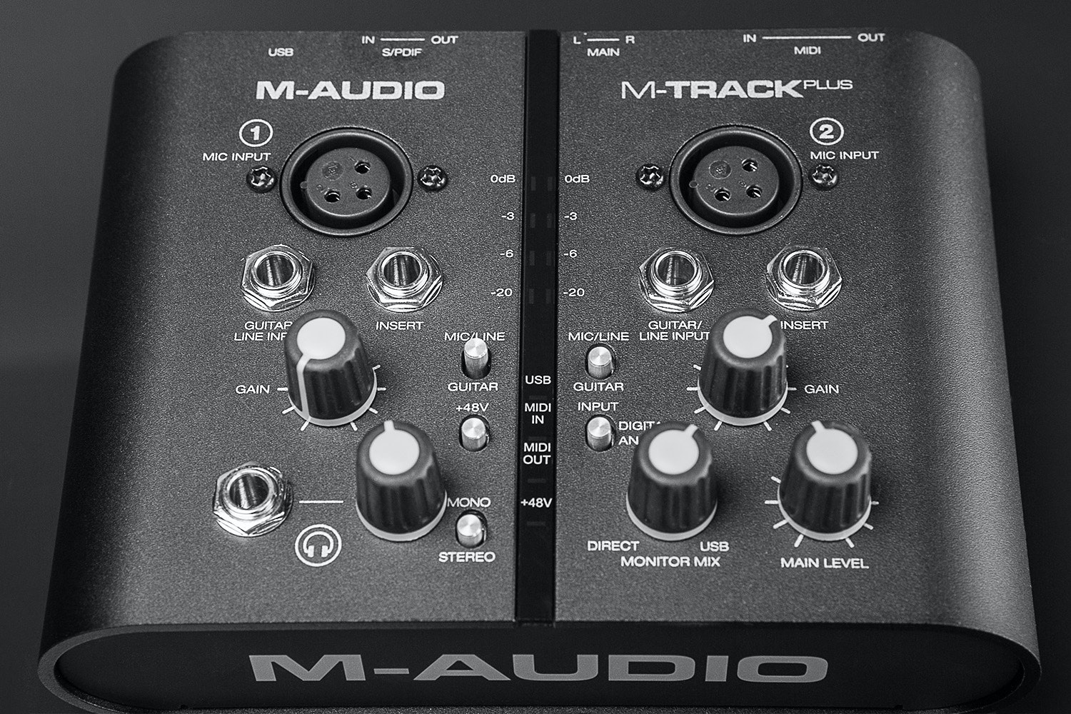 M-Audio MTRACK Plus USB Interface