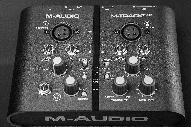 M-Audio MTRACK Plus USB Interface