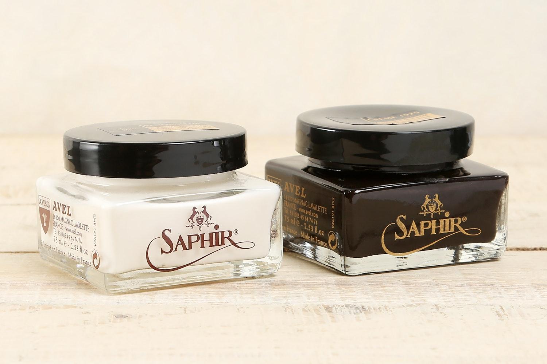Saphir Cream Polishes & Conditioner (2-Pack)