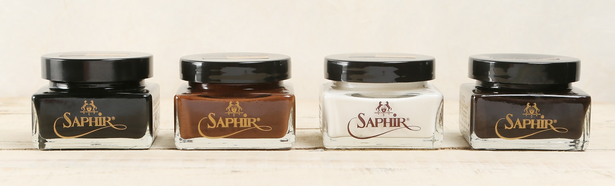 Saphir Cream Polishes & Conditioner (2-Pack)