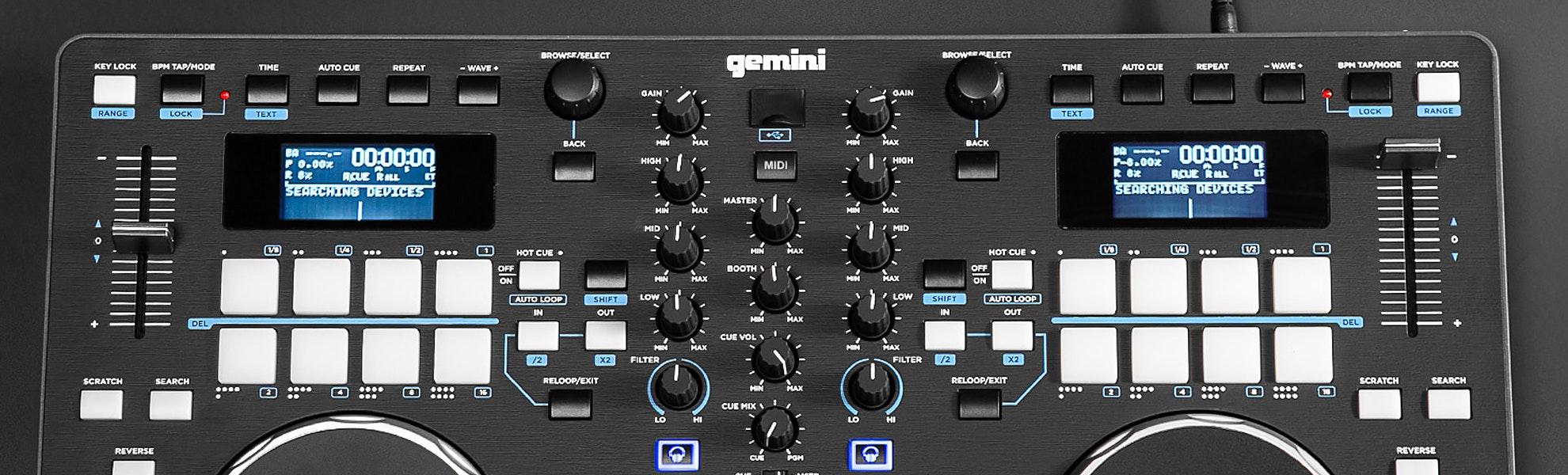 Gemini GMX Media Controller