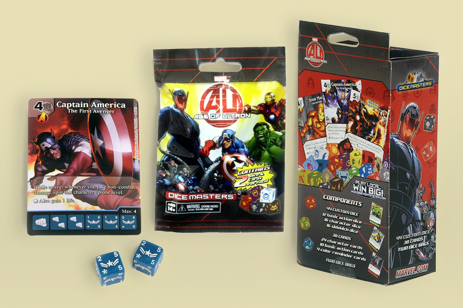 Age of Ultron Dice Masters Starter Bundle