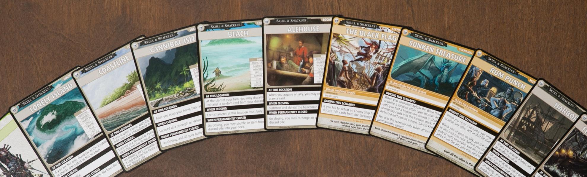 Pathfinder Card Game: Skull & Shackles Bundle