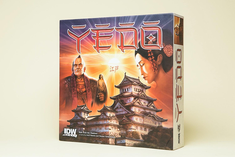 Yedo Board Game