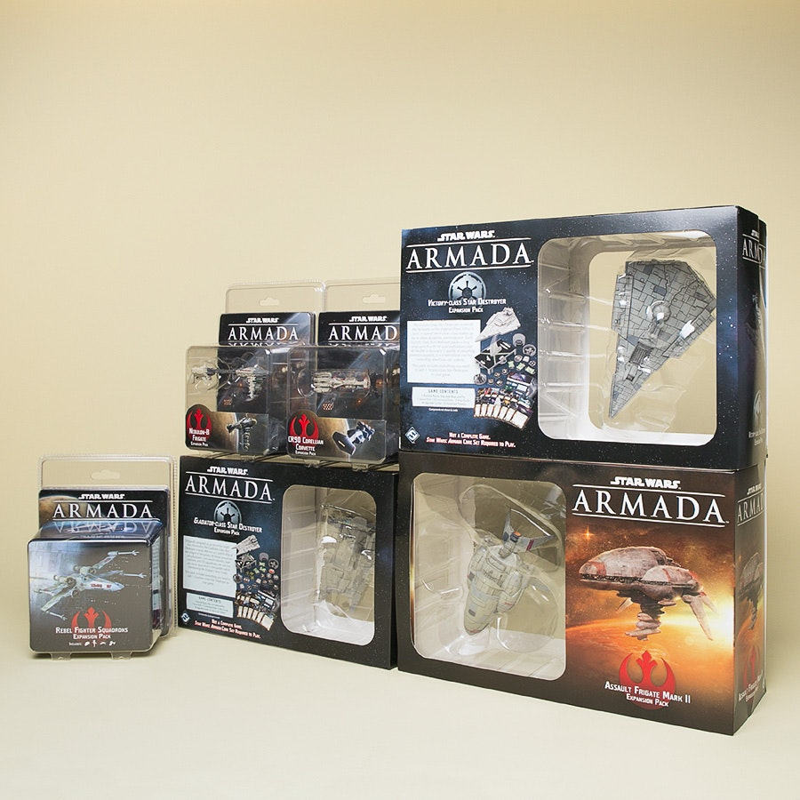 Star Wars Armada: Wave 1 Expansions