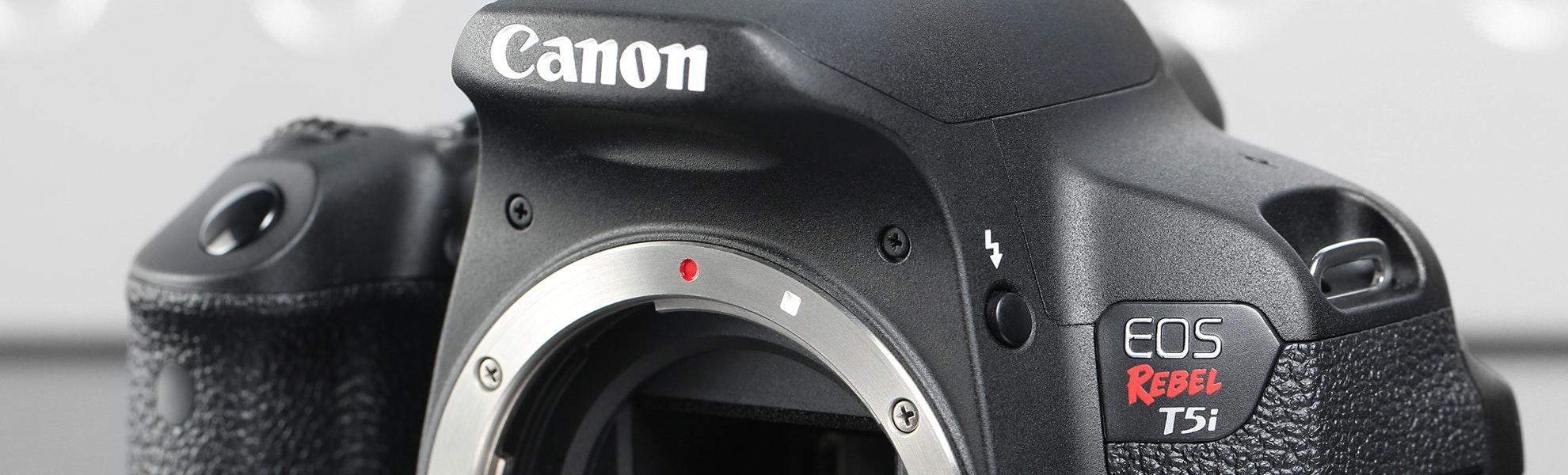 Canon Rebel T5i DSLR w/18-55mm Kit