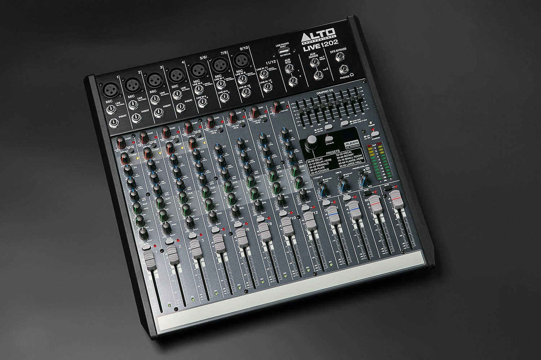 Alto Live 1202 12 Channel Mixer