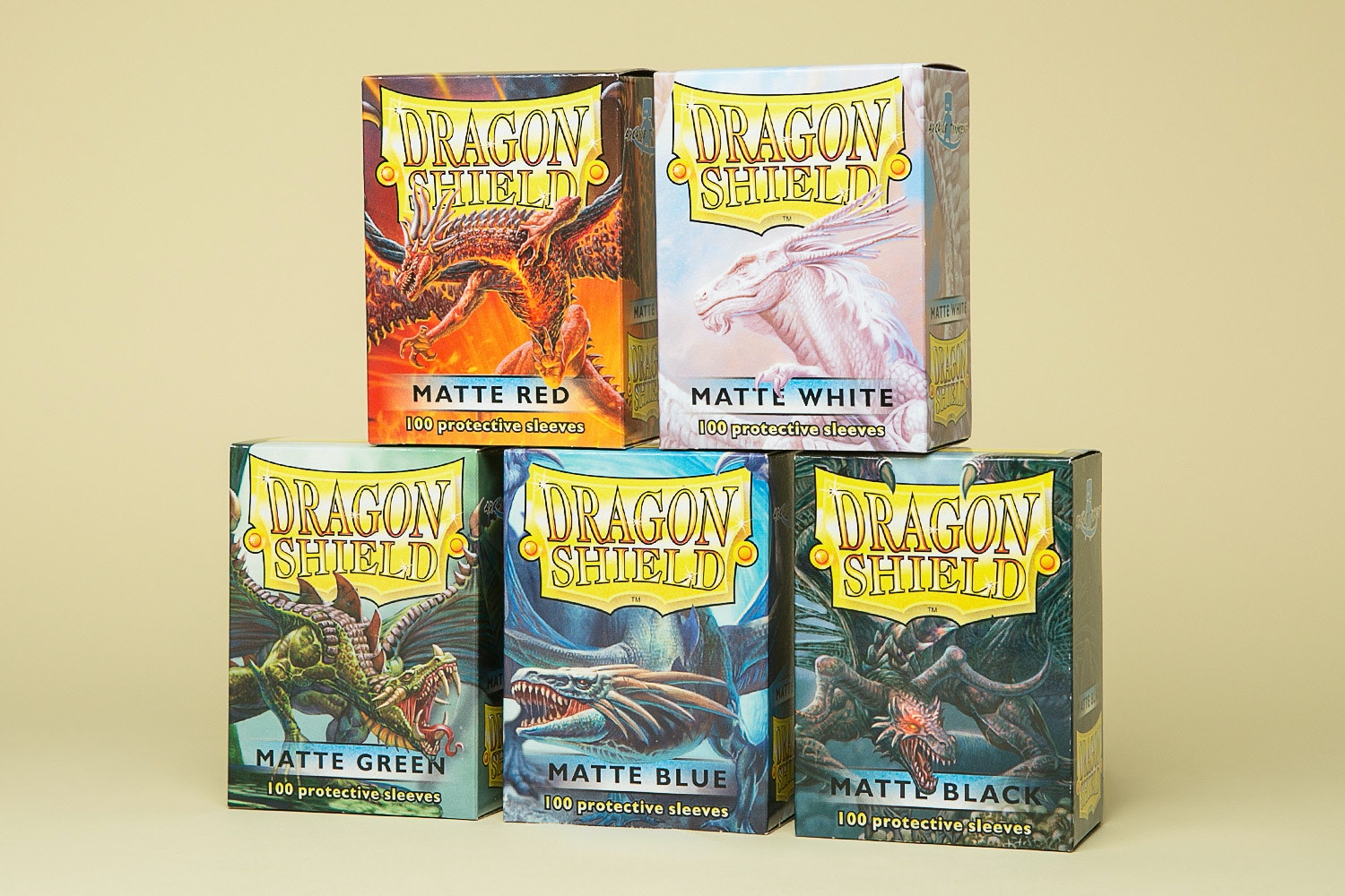 Dragon Shield Matte Sleeves (6-Pack)