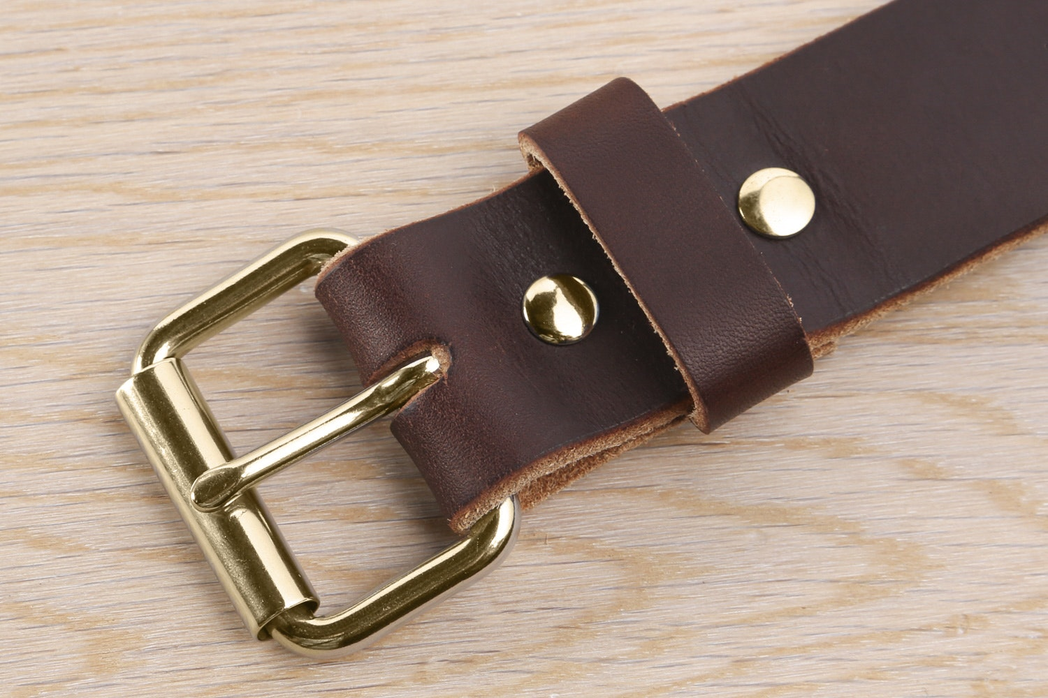 Sunset Brown with Brass Buckle