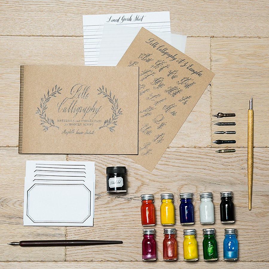 Belle Calligraphy Bundle