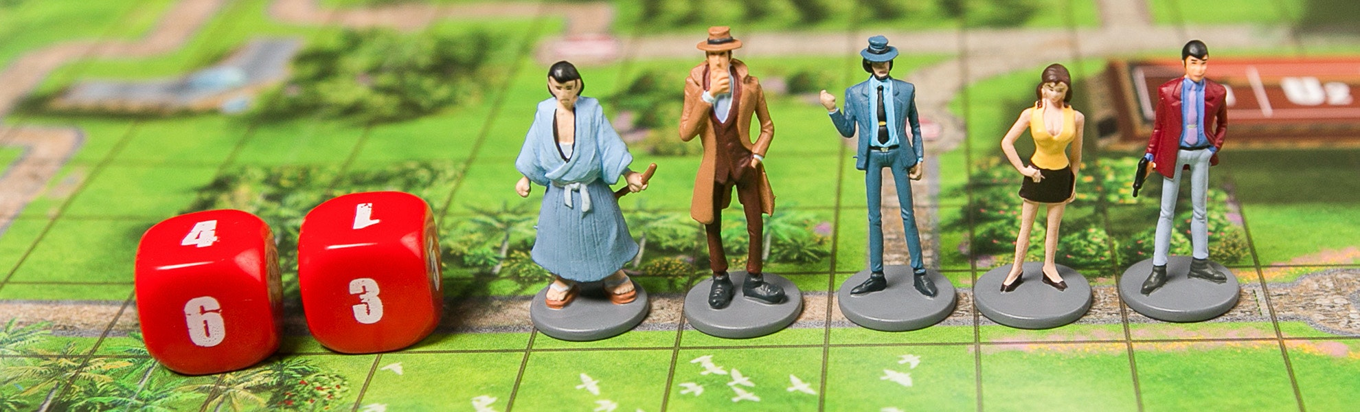 Lupin the 3rd Board Game Bundle