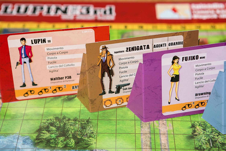 Lupin the 3rd Board Game Bundle