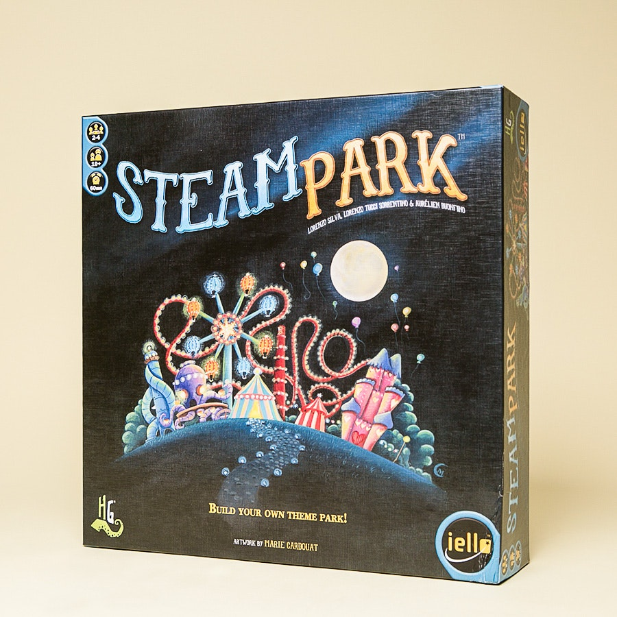 Steam Park Board Game