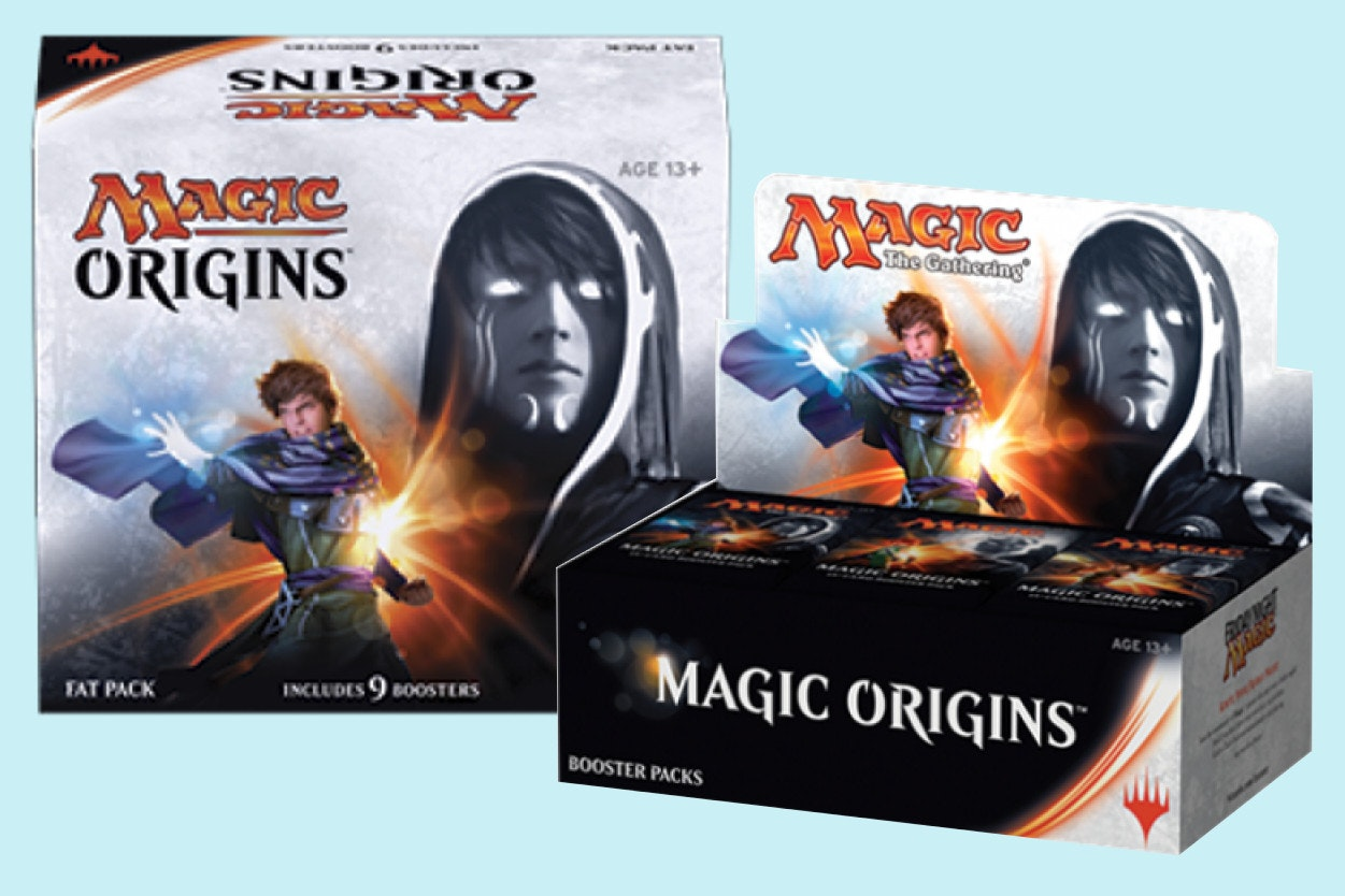 Magic Origins Booster Box + Fat Pack