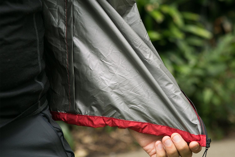 Lukes Ultralite Pertex Shield Rain Shell
