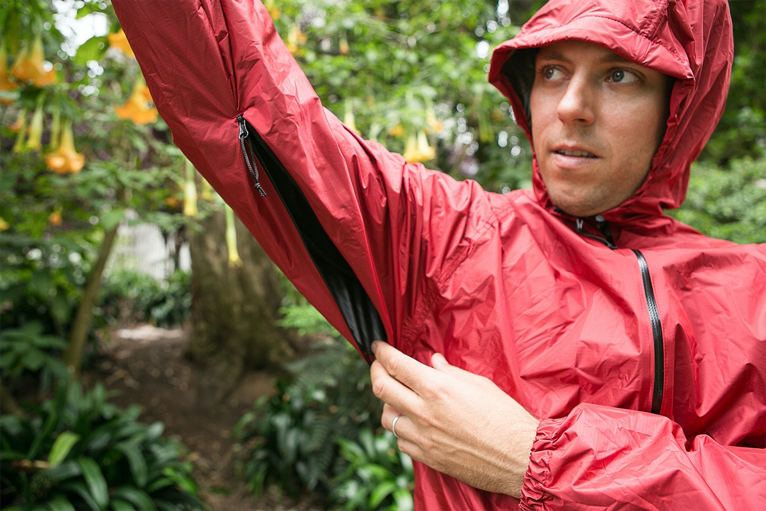Lukes Ultralite Pertex Shield Rain Shell