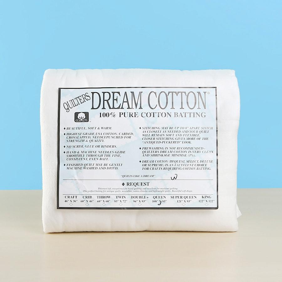 Quilters Dream Cotton Request Batting