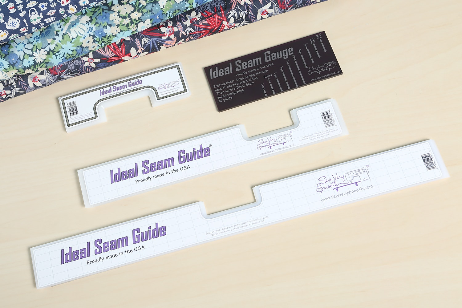 Combo set: All three Ideal Seam Guides and Ideal Seam Gauge (+ $20)