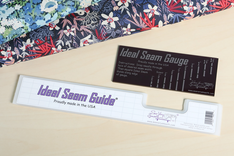"10"" Ideal Seam Guide + Ideal Seam Gauge (+ $2.50)"