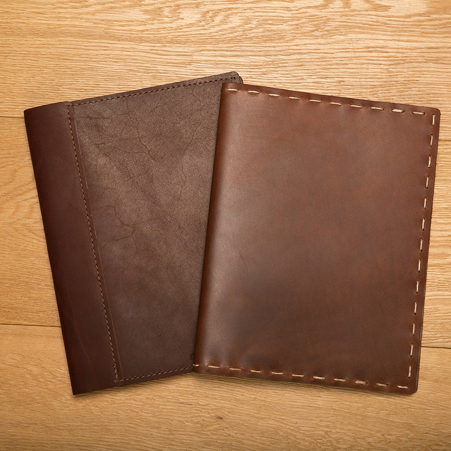 Rustico Leather Composition Notebook Cover