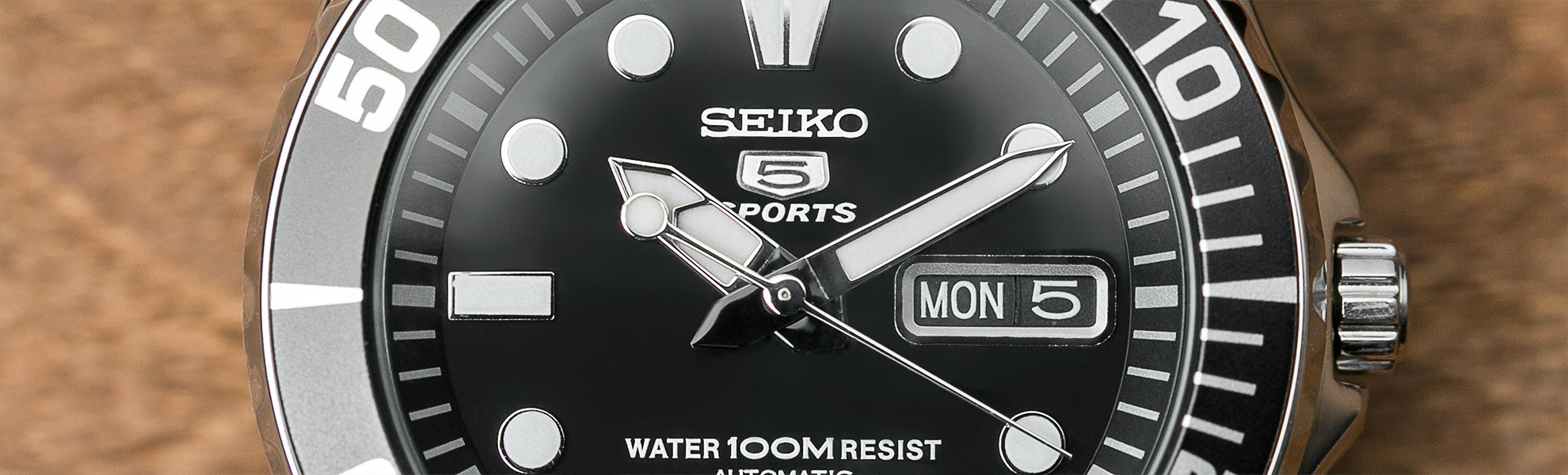 "Seiko ""Sea Urchin"" SNZF Watch"